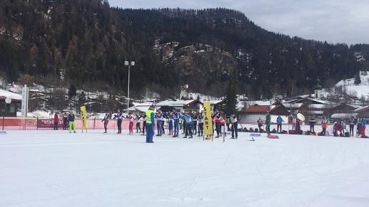 Depart ski de fond